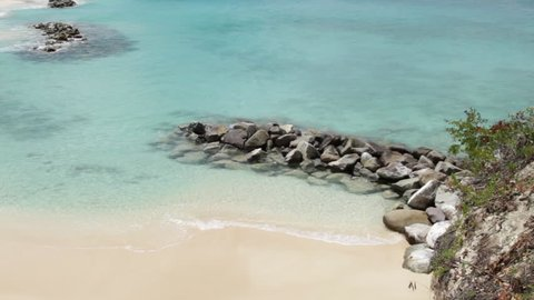 Scenic View of The Shores of Anguilla - Caribbean Beaches and Tourism