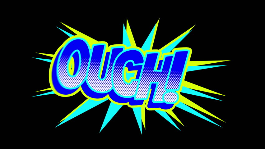 OUCH Comic expresion with matte