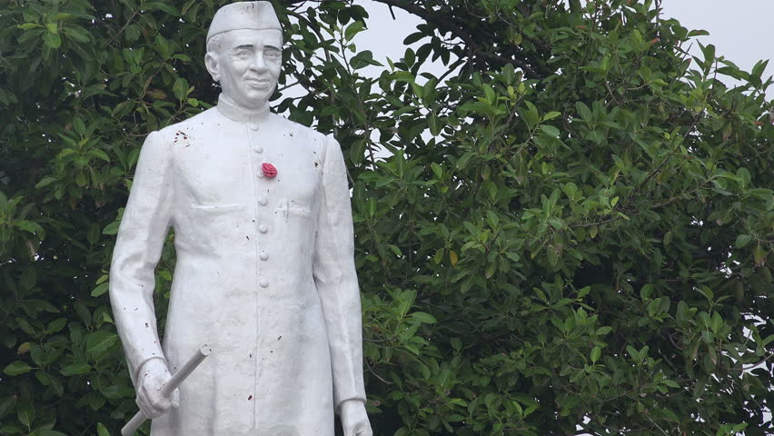 Statue of Jawaharlal Nehru, the Stock Footage Video (100% Royalty-free)  9554303 | Shutterstock