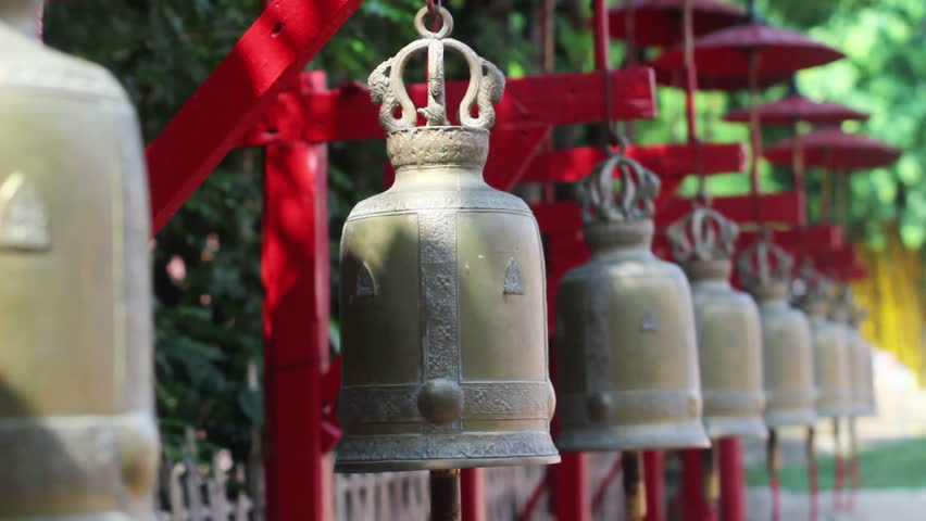 Bells in Buddhist Temple (with Stock Footage Video (100% Royalty-free)  9597143 | Shutterstock