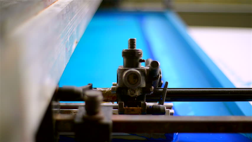 Industrial textile factory - printing