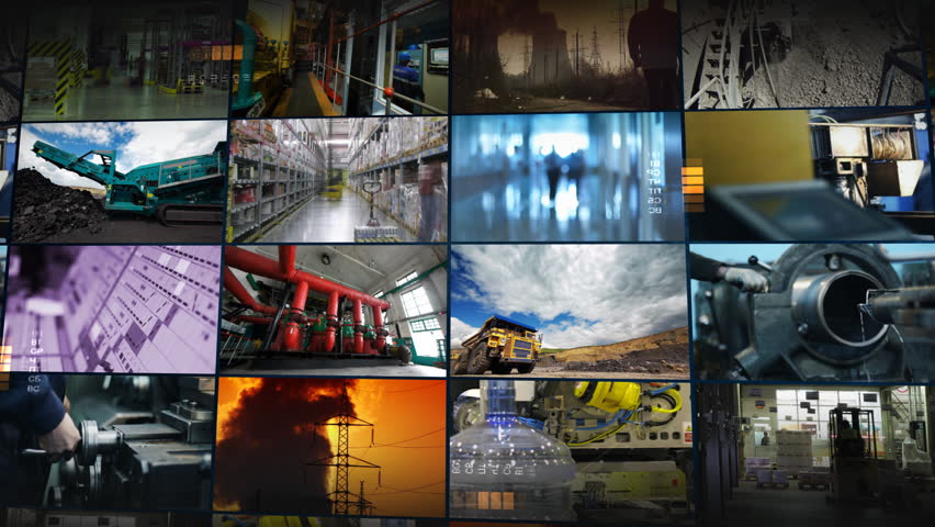 Industrial montage | Shutterstock HD Video #970573