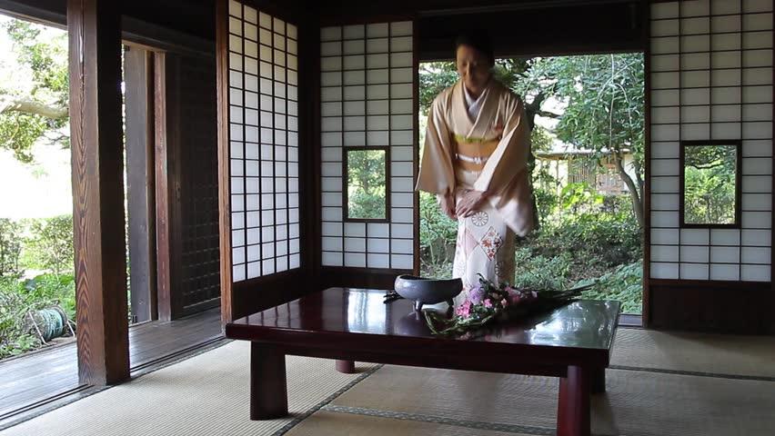 Japan mature kimono