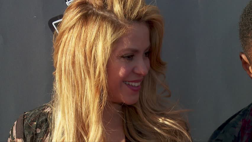 Los Angeles, CA - April 03,2014: Shakira at The Voice Season 6 Red Carpet Event, The Sayers Club
