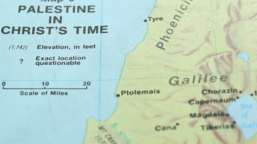 Map Time of Jesus Christ Stock Footage Video (100% Royalty-free) 9809093 Map Jesus Time on map paul's time, map jerusalem time of christ, map of israel at time of christ, map of asia in the time of christ, israel during jesus' time,