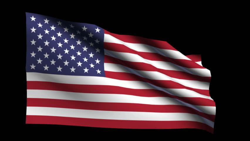 Image result for us flag black background