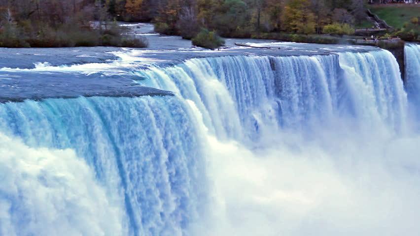 Niagara falls. Waterfall