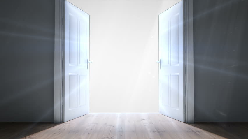 Digital animation of Door opening to light - HD stock video clip & Opening Doors In Modern Elevator. Loopable Stock Footage Video ... Pezcame.Com