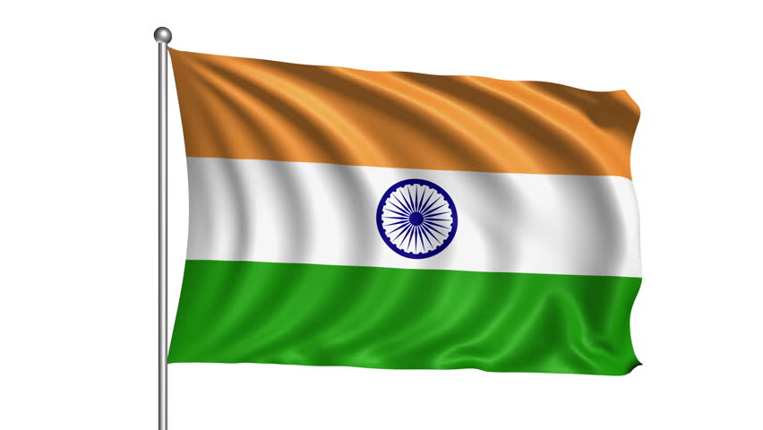 Indian Flag Animated: The 4K India Flag Animated Background Features A High